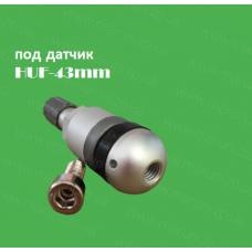 Вентиль легковий під датчик TPMS  HUF 43mm